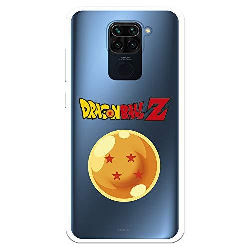 Funda para Xiaomi Redmi Note 9 Oficial de Dragon Ball Bola de Dragón nº 4 para Proteger tu móvil. Carcasa para Xiaomi de Silicona Flexible con Licencia Oficial de Dragon Ball.