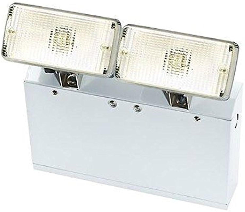 Saxby Energiesparende Wandleuchte aus Metall, innen 52016 W, Warmwei, LED, wei, 240 V, Notfallakku Back Up IP20