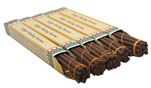 DharmaObjects 5 Box Paljor Healing Tibetan Incense Gift Pack