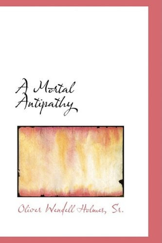 A Mortal Antipathy: First Opening of the New Portfolio