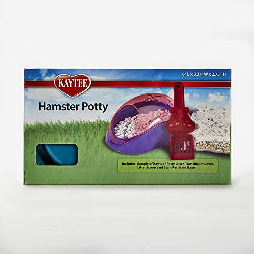 Kaytee Hamster Potty with Sample of Potty Litter Suitable for Hamsters,...