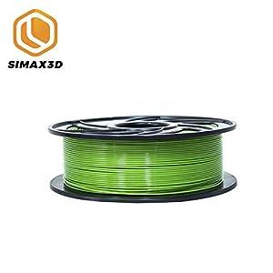 SIMAX3D 1.75mm PLA Filament Green for 3D Printer Extruder Pen Plastic Accessories 1KG spools mpressora 3D filamento Green