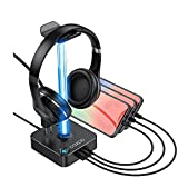 COZOO RGB Headphone Stand with...