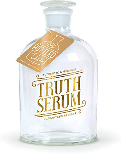 Genuine Fred BOTTLED UP Glass Spirits Decanter, Truth