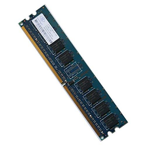 NANYA de memoria Ram DDR2 667Mhz 2-5300U NT1GT64U8HB0BY-3C PC, CL5 2Rx8