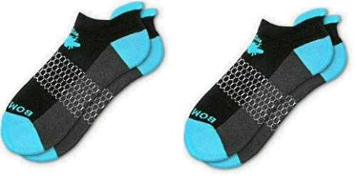 2 Pack Bombas Women's Originals Ankle Socks Black
