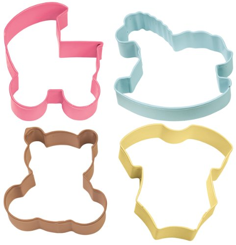 Wilton Pack de 4 cortadores de Galletas, Centimeters