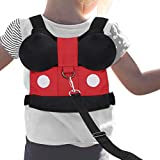 Accmor Kid Safety Harness Leash, Toddler Anti-Lost Belt with Safety Leash, Cute Baby Safety Harness Leashes Child Kid Assistant Strap for 1-5 Years Boys and Girls to Zoo or Mall