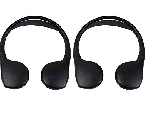 Grand Caravan DVD Headphones Headsets (Set of 2) 2006 2007 2008 2009 2010 2011 2012 2013 2014 2015 2016 2017 2018 Model Years.