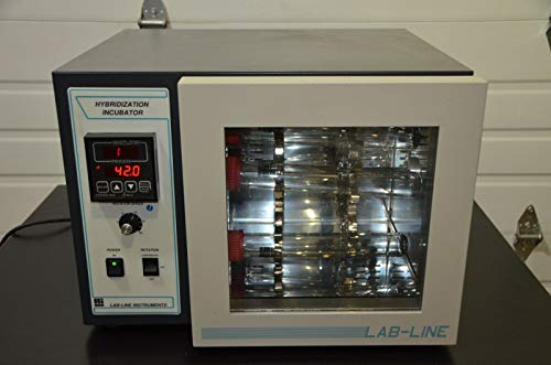 labtechsales Lab-Line Model 309 Hybridization Incubator w/Six Lab-Line 308-9 38X300MM Tubes
