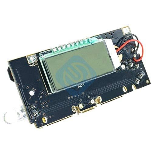 ZTSHBK Dual USB 5V 1A 2.1A Banco de energía móvil 18650 Módulo de Placa de Cargador de batería de Litio PCB Digital