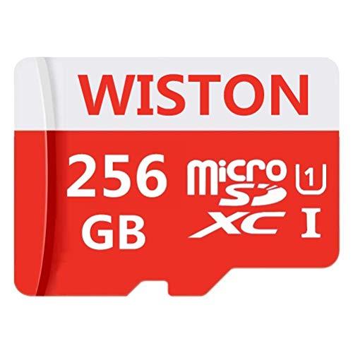 Scheda di memoria flash da 256 GB Micro SD ad alta velocità classe 10 TF con adattatore SD incluso