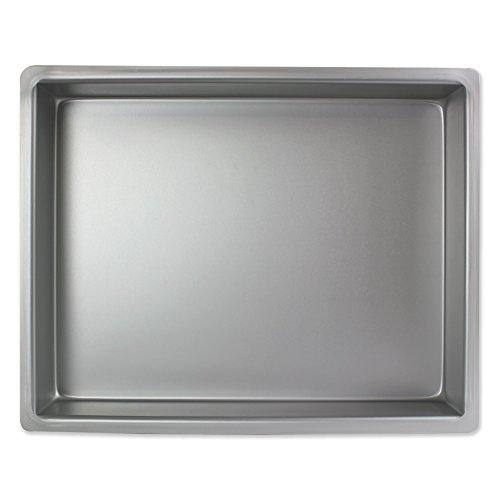 PME Molde para Pastel Rectangular de Aluminio Profundidad de 12 x 15 x 2-Pulgadas