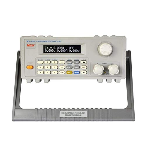 Précis Mesureur de charge électronique CC programmable for testeur électronique de charge 360V / 30A / 300W Charge commandée par programme MCH-3630B Durable