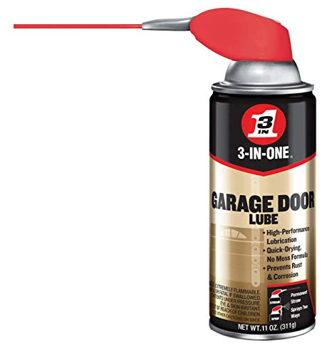 WD-40 3-in-one Professional Garage Door Lubricant, 11 Oz Aerosol...