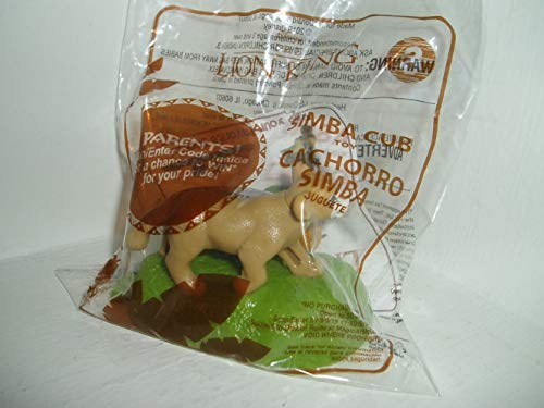 McDonald's 2019 The Lion King #3 Simba Cub Happy Meal Toy