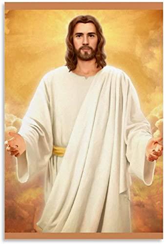 Adultos Puzzle 120 Piezas Niños Rompecabezas Fantasía Creencias religiosas Jesucristo Dios te salva 1000 Piece 29.5x19.6inch(75x50cm) Sin Marco