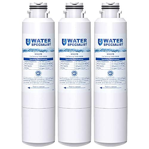 Waterspecialist DA29-00020B Refrigerator Water Filter, Replacement for Samsung DA29-00020A/B, HAF-CIN/EXP, DA29-00020B-1, RF25HMEDBSR,...