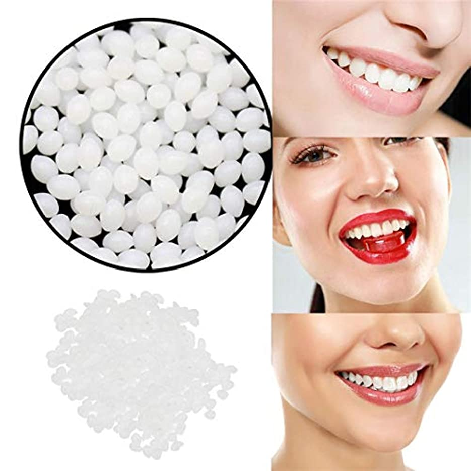 状態揮発性とげのある歯の修理キットフィッティングビーズ偽の歯一時的な歯の隙間接着剤の固体歯のゲル,50g