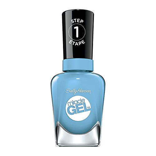 Sally Hansen Miracle Gel 679 – Nail Polishes (Women, digi-teal, Bottle, Butyl Acetate, Ethyl Acetate, Nitrocellulose, Acetyl tributyl Citrate, Isopropyl Alcohol, tosylamide)