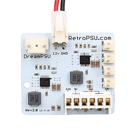 SNOWINSPRING für Sega Dreamcast Spiele Konsole Dreampsu Power Board 12V