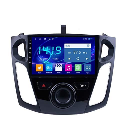 Sistema de navegación GPS, adecuado para FORD FOCUS 12-15 CAR GPS, navegación de pantalla táctil estéreo HD, radio de automóvil, reproductor Bluetooth 4 + 64g