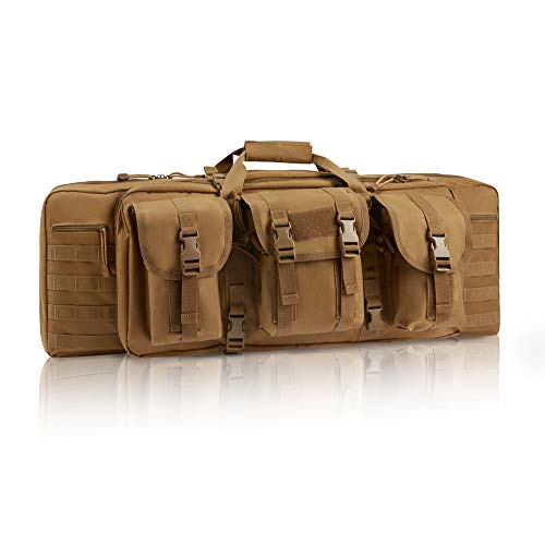 GUAWIN Rifle Case Classical Tactical Double Long Soft 36'...