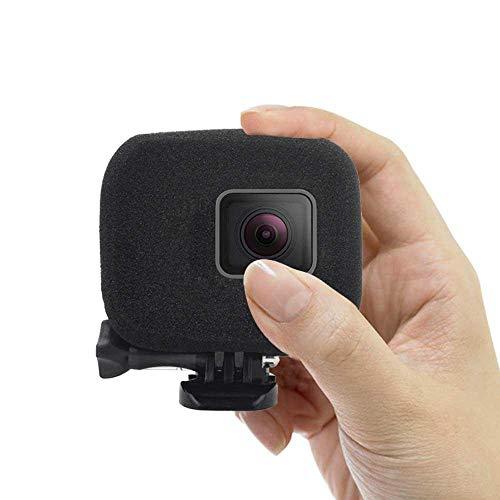 KOBWA Kompatibler Windschutz für Ihre GoPro Hero7, HERO6 - Reduziert Windgeräusche, für Optimale Audioaufnahmen (One Pack)