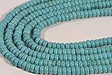 LOVEKUSH LKBEADS Magnesite 6x3mm pietra preziosa naturale fornitura gioielli forniture 16 pollici lungo filo Code-HIGH-43302