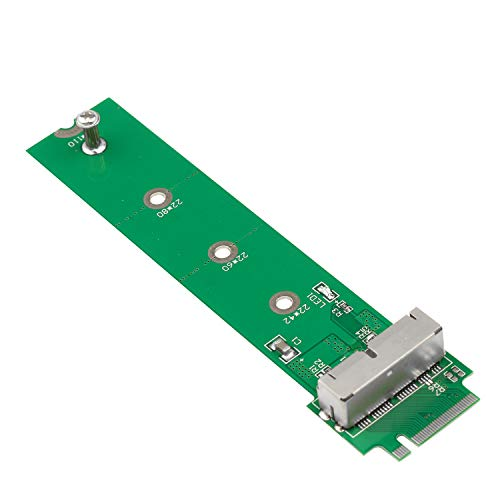 Futheda PCIE SSD to M.2 Key M Adapter Card Hard Drive Converter to NGFF M2 Compatible with 2013 2014 2015 2016 2017 Retina Support Model A1465 A1466 A1398 A1502