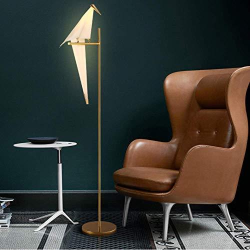 STHfficial tafellamp in Scandinavische stijl, hanglamp vogel kran, papier, bedlampje voor slaapkamer