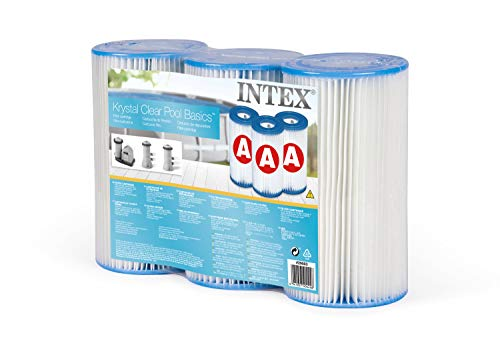 INTEX 29003 - Lot 3 Cartouches de Filtration Modèle A