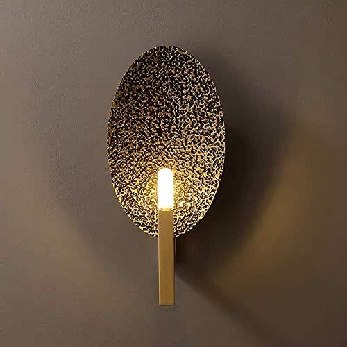 Palm kloset Arte Creativo Simple luz Moderna de Lujo Sala de Estar Dormitorio Comedor Libro decoración de la Pared lámpara de Pared 18 * 35.5 * 9 cm