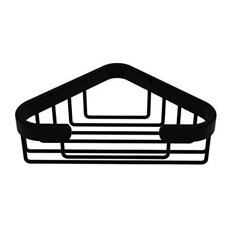 Allied Brass BSK-10ST Corner Soap Shower Basket, Matte Black