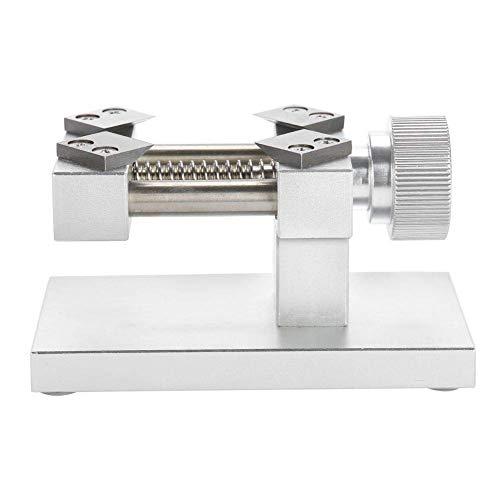 Kijken Bezel opener, Red/Silver watch Bezel Removal Tool Workbench achterkant van de behuizing opener tool, horlogemaker gereedschap,Silver