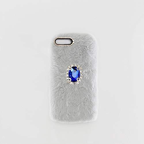 YHY Gris Claro Noble Elegante Caja del Teléfono Móvil Diamantes imitación TPU Funda Silicona para Lenovo ZUk Z2 Phone Case
