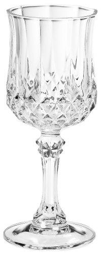 Luminarc Arc International Longchamp Diamax Cordial Glasses (Set of 4), 2 oz, Clear