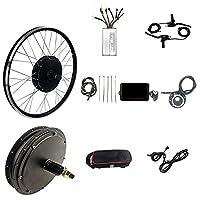 電動自転車48v1000w後輪回転ブラシレスギアレスハブモーター26インチ、Kt-led8hディスプレイ、電動自転車モーターホイール変換キット (Color : Spinning flywheel, Size : 29er)