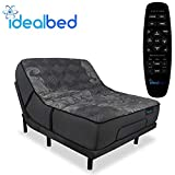 iDealBed iQ5 Luxury Hybrid Mattress and Adjustable Bed Sleep System, Pressure Relief Sleep, Zero Gravity, Anti-Snore, Custom Comfort Positions (Queen, Luxury Firm (Medium Firm) + 4i Custom)