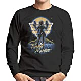 Cloud City 7 Retro Tomb Raider Lara Croft Men's Sweatshirt