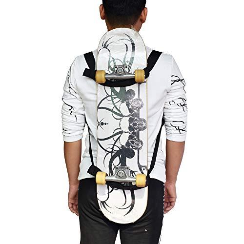 No Skateboard Skateboard Shoulder Carrier//Adjustable Skateboard Carry Bag//Backpack Strap//Skateboard Backpack Carrier//Skateboard Accessories