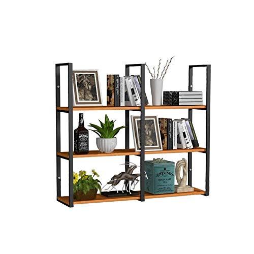 FEN 3 Tiers Bar Wandmontage Plank Plafond Rek Ledge gebruikt voor Opslag Rack/Wijn Rack/Boekenplank/Ophangen Decoraties Frame | Retro Vintage LOFT Style