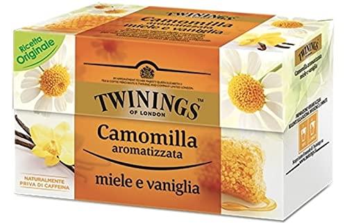 Twinings Infusi Camomilla Miele e Vaniglia - 120 Filtri (6 X 20 gr)