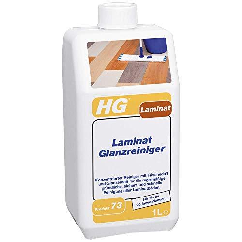 HG Laminat Glanzreiniger 1L – ein frisch duftender Laminat Glanz für alle Arten von Laminatböden