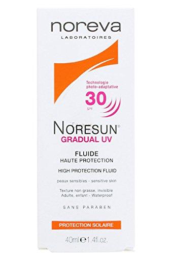 NOREVA Noresun SPF30 Fluide Visage Gradual UV - 40ml