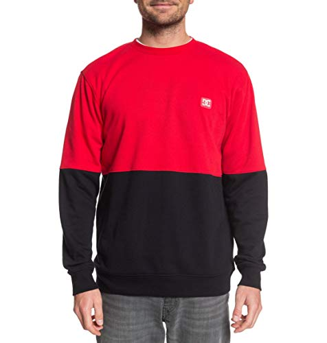 DC Shoes Rebel - Sweatshirt - Sweatshirt - Männer - L - Rot