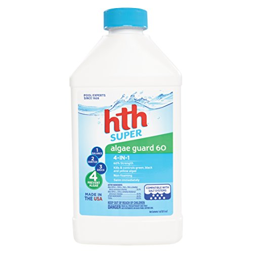 hth Pool Algaecide Super Algae Guard 60 (67064)