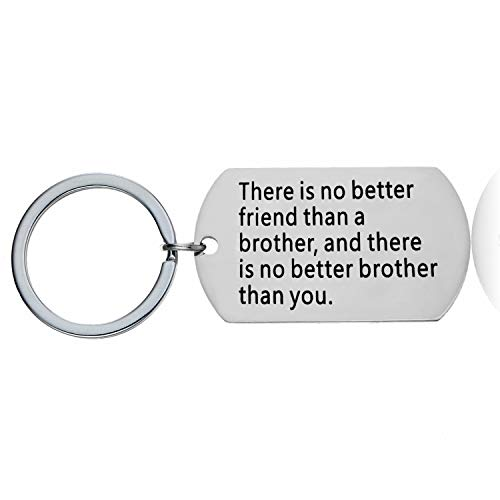 Brother Birthday Gifts Brother Keychain Big Brother Gifts for Men Little Brother Gifts Friends Key Chains Christmas