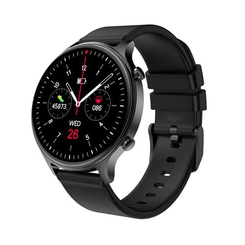LGDD Reloj Inteligente DK18 para Hombres Y Mujeres Contador de Calorías del Podómetro del Monitor del Ritmo Cardíaco Reloj Deportivo Bluetooth Impermeable IP68 con Pantalla HD de 1 28