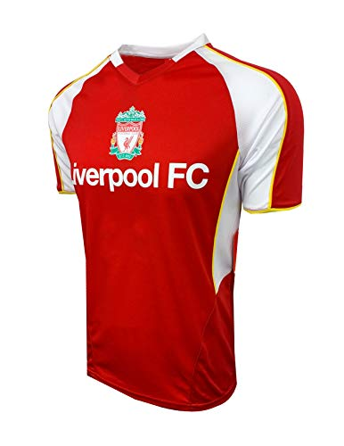 Liverpool Kids Training Jersey, Red Color (Youth Small 4-6 Years)